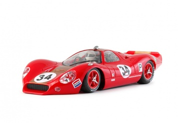 NSR P68 Alan Mann Brands Hatch 1968 Slotcar 1:32 0034