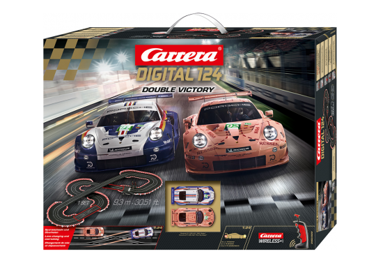 CARRERA DIGITAL 124 Double Victory 9,30m 23628