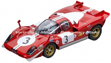 Carrera Digital 124 Ferrari 512S Berlinetta Scuderia Filipinetti Nr 3 1970 23856