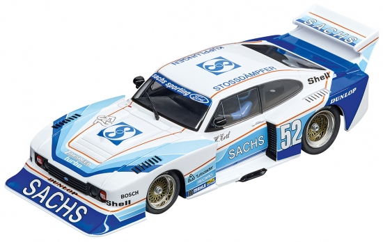Carrera Digital 132 Ford Capri Zakspeed Turbo Sachs Sporting Nr. 52 30831