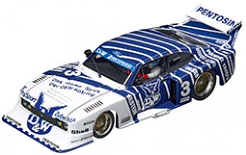 Carrera Digital 132 Ford Capri Zakspeed Turbo D&W-Zakspeed Nr. 3 30887