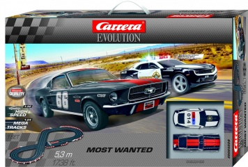 Carrera Evolution Most Wanted 5,3m 25228