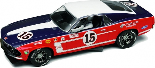 Scalextric Ford Mustang 1969 Boss 302 Slotcar 1:32 Art. 2401