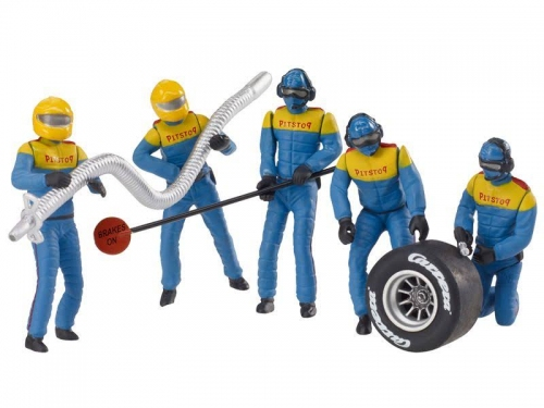 Carrera Figurenset Mechaniker Blau 21132