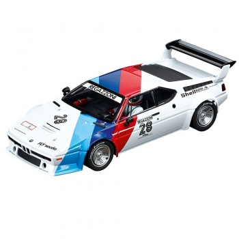 Carrera Digital 124 BMW M1 Procar Regazzoni Nr. 28 1979