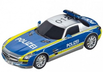 Carrera Digital 132 Mercedes SLS AMG Polizei 30793