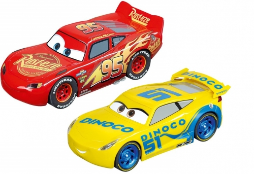 Carrera Evolution Doppelpack 2X Disney Cars ohne Box