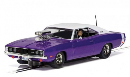 Scalextric Dodce Charger R/T Purple c4148