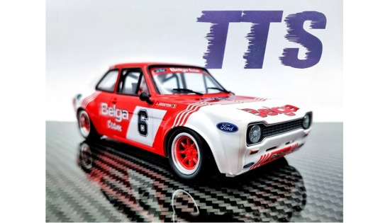 TTS 1/24 Escort Rallye Team B-Racing No. 6