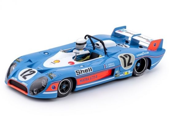 Matra-Simca MS670B Nr. 12 3er LeMans 1973 Slotcars von Slot it ca37b