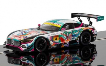 Scalextric Mercedes AMG GT3#4 Anime JSGT HD