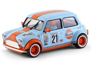 BRM Mini Cooper Team Gulf Nr. 21