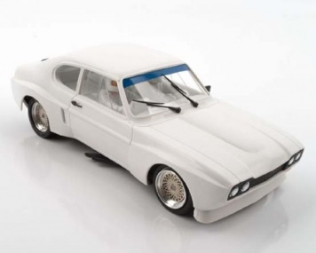 SRC Ford Capri 2600 LV White kit Raliy Test 3 Chrono Sieries Tuning