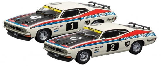 Scalextric Ford XB Falcon TWIN SET -3587-