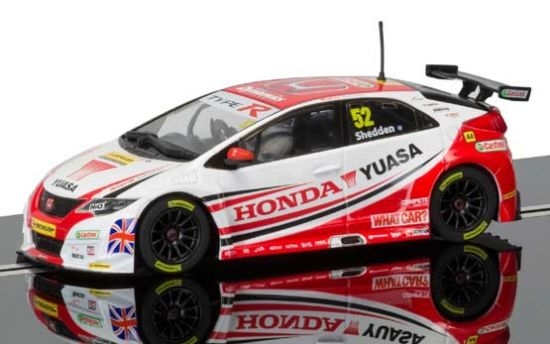 Scalextric Honda Civic Type R 52 BTCC 2015 3783