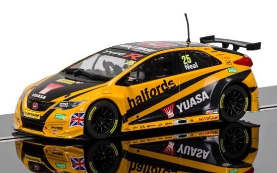 Scalextric Honda Civic Type R 52 BTCC 2016 3861