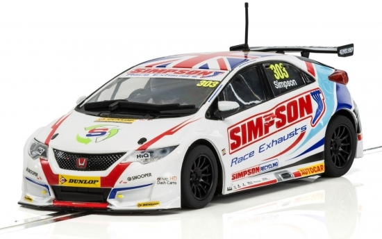 Scalextric Honda Civic Type R  BTCC 2017 Nr. 303