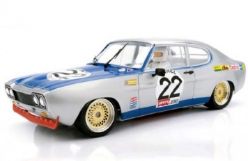 SRC Ford Capri 2600 RS Spa 1971 Nr. 22