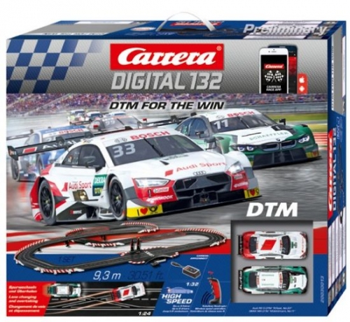 Carrera Digital 132 DTM  For the Win WIRELESS AppConnect 30013