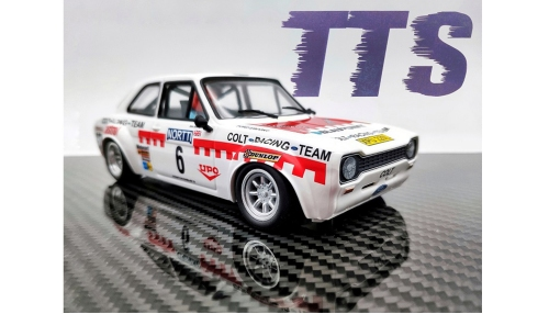 TTS 1/24 Escort Rallye Team C-Racing No. 6