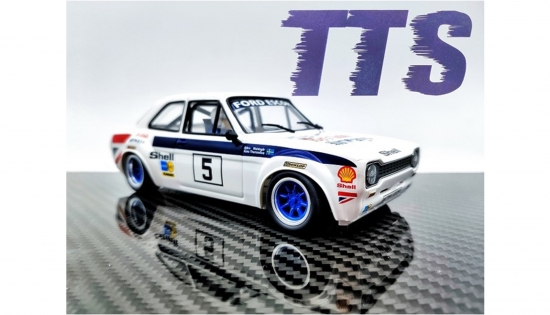TTS 1/24 Escort Rallye Team BA No. 5