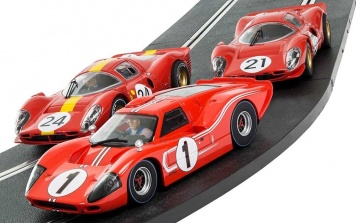 Scalextric LeMans Triple Pack c3892a