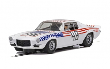 Scalextric Chevrole Camaro 1970 Stars & Stripes c4043