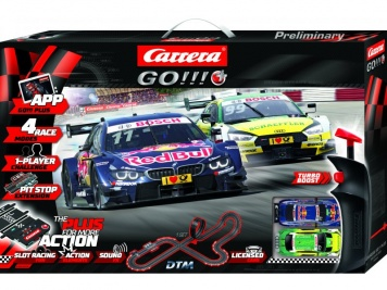 Carrera GO!!!+ Plus DTM Splash ´n dash Set  66005