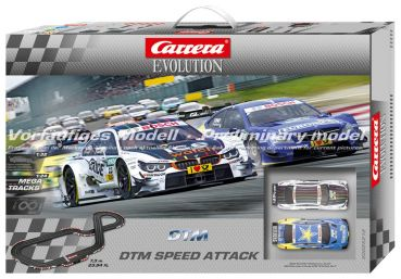 Carrera Evolution DTM Speed Attack  7,3m 25212