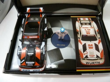 Fly Ford Capri Zakspeed mit Figur Klaus Ludwig Campeones