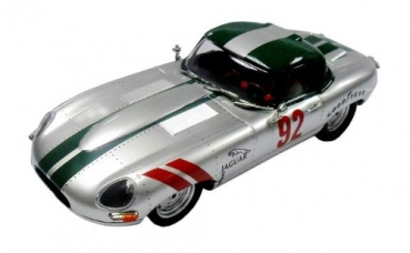Jaguar E-Type Roadster Silver 62 Slotcar 1:32 von Ninco Art. 50611