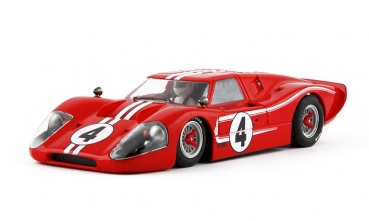 NSR Slotcars Ford MK IV Limited Edition nr4 Red 1:32 Art. 1163
