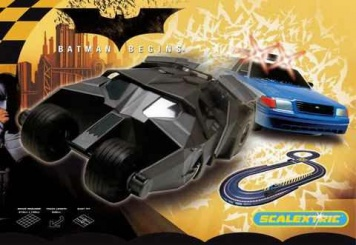 Scalextric Batmann Begins Komplet Set