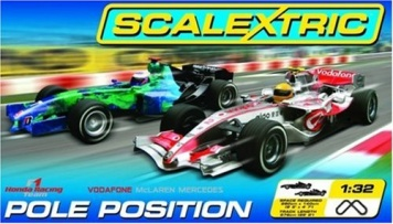 Scalextric Pole Position  6,76m Komplet Set c1198