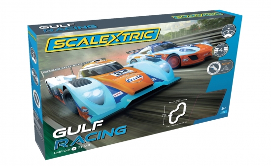 Scalextric Gulf Racing Set (GT v LMP) 1384