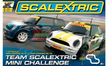 Scalextric TEAM Mini Challenge 1320