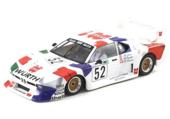 Scaleauto BMW M1 Gr 5 LeMans 1981 Würth  6027