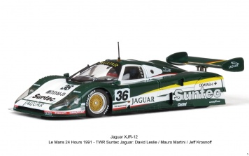 Jaguar XJR12 LeMans 1991 Slotcars von Slot it ca13d