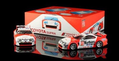 Revo Slot 1/32 Toyota Supra GT, Twin-Pack Special Edition Nr.37 und Nr.36