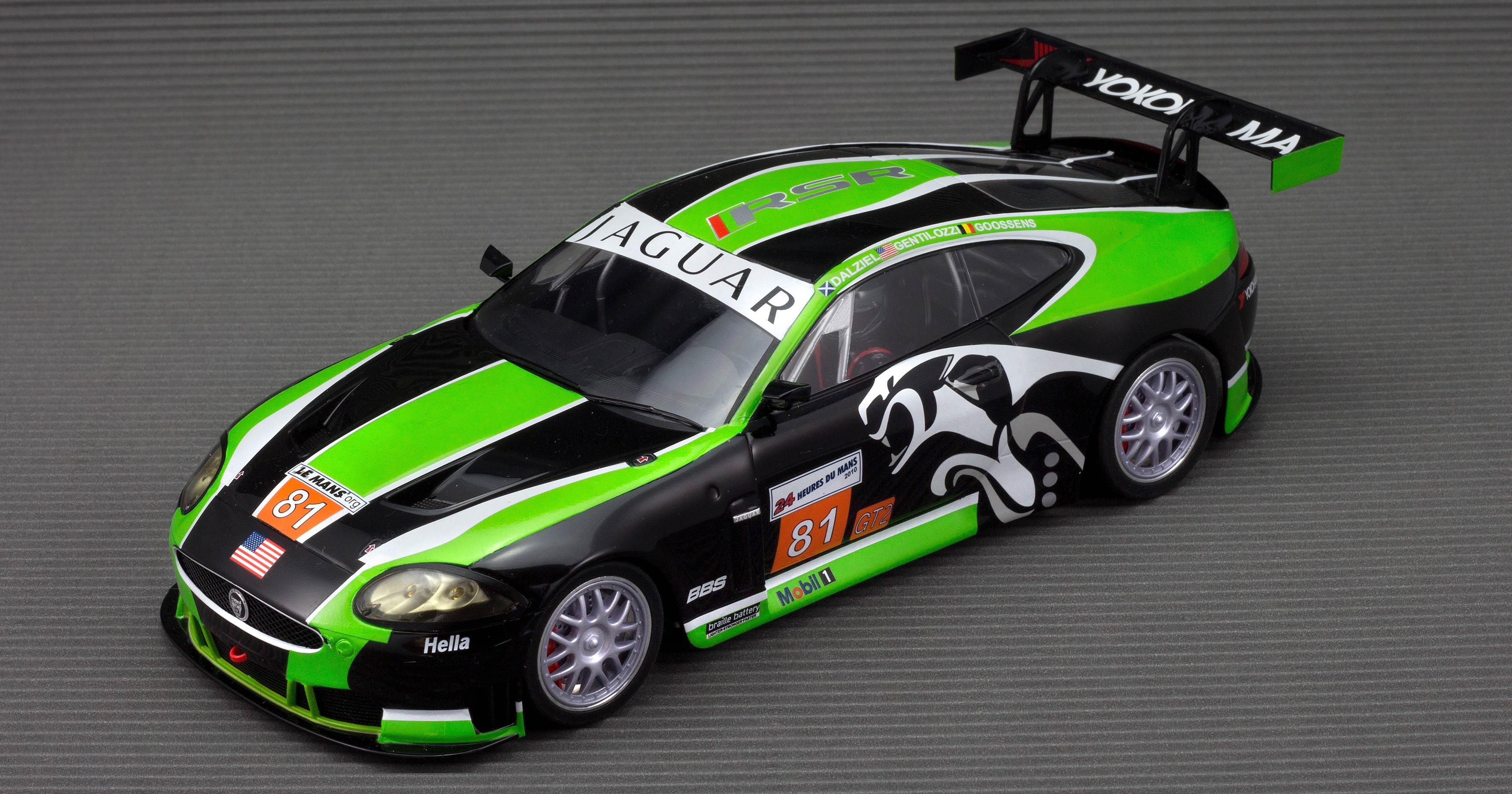 Jaguar XXR RSR GT2 LeMans 2010 #Nr.81 - Slotcarscheune.de