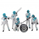 Carrera Figurenset Mechaniker Silber 21133